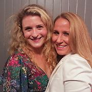 Kendra Goehring-Garrett, left, and Beth Swindell pose for a photo during the Green Party Sunday September 7, 2014 at City Stage Co. (Jason A. Frizzelle)