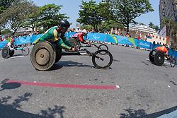 van DYK Ernst, RSA, T52/53/54 Marathon at Rio 2016 Paralympic Games, Brazil