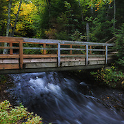 &quot;Bridge at Hurricane River&quot; <br />