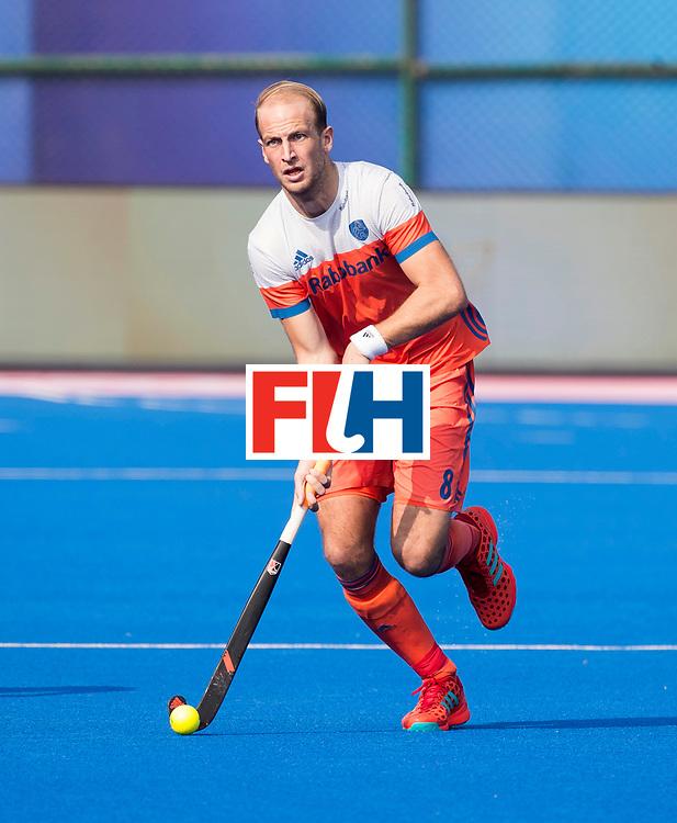 BHUBANESWAR -  Billy Bakker (Ned) tijdens  de Hockey World League Final wedstrijd Nederland-Spanje .  COPYRIGHT  KOEN SUYK