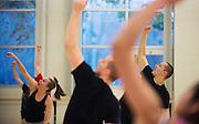 Momix master dance class. (Photo by Gonzaga University.)