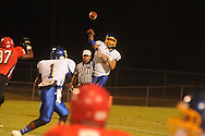 Oxford High's Parker Adamson (3) vs. Center Hill in Olive Branch, Miss. on Friday, September 21, 2012. Oxford High won.