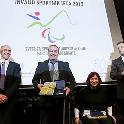 20121206: SLO, Paralympic games -  Invalid sportnik leta 2012