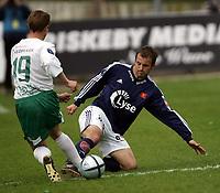 Fotball , Tippeligaen  29 . Mai  2005 , Briskeby  Stadion , Ham - Kam v  Viking  (0-0)<br /> <br /> Trygve Nygaard , Viking