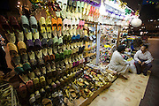 Bur Dubai Souq. Ladies' shoes.