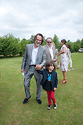 PAUL GREEN; JOSEPH GREEN, The Dalwhinnie Crook  charity Polo match  at Longdole  Polo Club, Birdlip  hosted by the Halcyon Gallery. . 12 June 2010. -DO NOT ARCHIVE-© Copyright Photograph by Dafydd Jones. 248 Clapham Rd. London SW9 0PZ. Tel 0207 820 0771. www.dafjones.com.