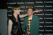 GARETH PUGH AND HENRY HOLLAND, Ponystep Launch supported by Mac Cosmetics. Sketch. 28 April 2008.  *** Local Caption *** -DO NOT ARCHIVE-© Copyright Photograph by Dafydd Jones. 248 Clapham Rd. London SW9 0PZ. Tel 0207 820 0771. www.dafjones.com.