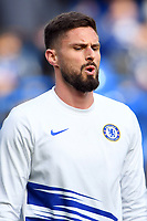 Football - 2019 / 2020 Premier League - Chelsea vs. Tottenham Hotspur<br /> <br /> Chelsea's Olivier Giroud during the pre-match warm-up, at Stamford Bridge.<br /> <br /> COLORSPORT/ASHLEY WESTERN