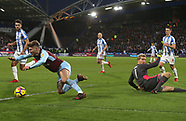 Huddersfield v Burnley - 30 Dec 2017