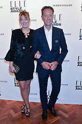 Richard E. Grant and Olivia Grant at the 17th Elle Style Awards 2014 in association with Warehouse held at One Embankment, 8 Victoria Embankment, London on 18th February 2014.