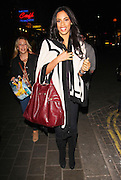 14.OCTOBER.2011. LONDON<br /> <br /> 'THE SATURDAYS' SINGER ROCHELLE WISEMAN LEAVING SOHO HOTEL, IN SUPPORT OF CAPITAL FM'S HELP A CAPITAL CHILD APPEAL, WHICH IS RAISING FUNDS TO HELP THE TEENAGE CANCER TRUST TO PROVIDE SPECIALIST HOSPITALS AND CARE FOR YOUNG PEOPLE WITH CANCER<br /> <br /> BYLINE: EDBIMAGEARCHIVE.COM<br /> <br /> *THIS IMAGE IS STRICTLY FOR UK NEWSPAPERS AND MAGAZINES ONLY*<br /> *FOR WORLD WIDE SALES AND WEB USE PLEASE CONTACT EDBIMAGEARCHIVE - 0208 954 5968*