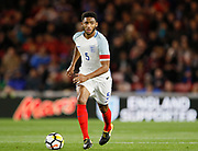 Joe Gomez of England during the U21 UEFA EURO first qualifying round match between England and Scotland at the Riverside Stadium, Middlesbrough, England on 6 October 2017. Photo by Paul Thompson.