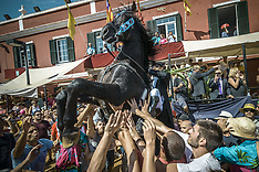 Spain: 2nd Day Of Sant Jaume Festival Underway - 25 July 2017