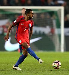 Theo Walcott of England passes the ball - Mandatory by-line: Robbie Stephenson/JMP - 11/10/2016 - FOOTBALL - RSC Stozice - Ljubljana, England - Slovenia v England - World Cup European Qualifier