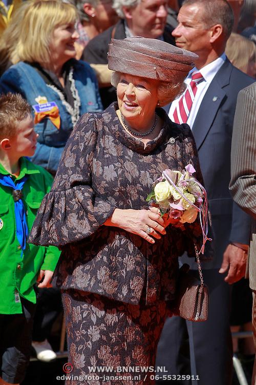 NLD/Weert/20110430 - Koninginnedag 2011 in Weert, Beatrix