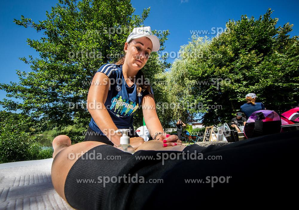 Barbi Savorn, manualna terapevtka, Poletni tek, Priprave na Ljubljanski maraton 2018, on June 23, 2018 in Ljubljana, Slovenia. Photo by Vid Ponikvar / Sportida