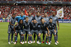 September 19, 2018 - Lisbon, Portugal - Lineup of the Bayern's team during Champions League 2018/19 match between SL Benfica vs FC Bayern Munchen, in Lisbon, on September 19, 2018. (Credit Image: © Carlos Palma/NurPhoto/ZUMA Press)