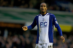 BIRMINGHAM, ENGLAND - Tuesday, December 4, 2007: Birmingham City's Cameron Jerome during the Premiership match against Chelsea at St Andrews. (Photo by David Rawcliffe/Propaganda)