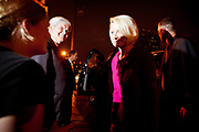 Republican Presidential Candidate Newt Gingrich and his wife Callista at the victory party at the Hilton Hotel in Columbia after a solid victory in South Carolina. Next stop; Florida.