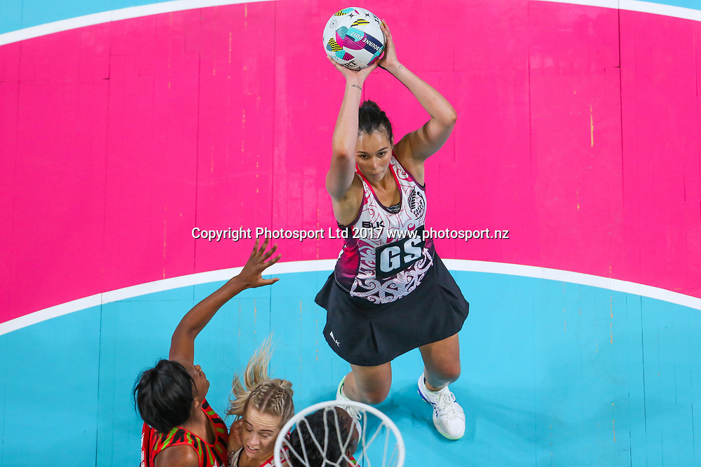 Ameliaranne Ekenasio during the Fast5 Netball world series match between New Zealand Silver Ferns and Malawi at Hisense Arena Melbourne Australia. Sunday 29th October 2017. Copyright Photo. Brendon Ratnayake / www.photosport.nz