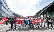 Austrian Boarder Protest 240416