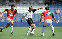 Junichi Inamoto (Fulham)  Fulham v Real Mallorca, Pre-Season Friendly, 10/08/2003. Credit: Colorsport / Matthew Impey