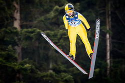Julia Kykkaenen (FIN) during 1st Round at Day 1 of FIS Ski Jumping World Cup Ladies Ljubno 2018, on January 27, 2018 in Ljubno ob Savinji, Ljubno ob Savinji, Slovenia. Photo by Ziga Zupan / Sportida