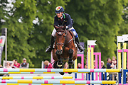 Biarritz II ridden by Camilla Kruger in the Equi-Trek CCI-4* Show Jumping during the Bramham International Horse Trials 2019 at Bramham Park, Bramham, United Kingdom on 9 June 2019.