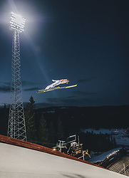 11.03.2020, Granasen, Trondheim, NOR, FIS Weltcup Skisprung, Raw Air, Trondheim, Herren, im Bild Stefan Kraft (AUT) // Stefan Kraft of Austria during men's 3rd Stage of the Raw Air Series of FIS Ski Jumping World Cup at the Granasen in Trondheim, Norway on 2020/03/11. EXPA Pictures © 2020, PhotoCredit: EXPA/ JFK