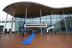 20160424 NED: Play off finale Abiant Lycurgus - Seesing Personeel Orion, Groningen<br />Winterse omstandigheden bij Martiniplaza, Groningen