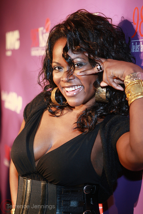 Abiola Abrams at the Celebration for the Finale episode of the VH1 hit reality show ' Let's talk about Pep held at the Comix Club on March 1, 2010 in New York City.
