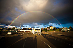 Rainbow in Falkirk..