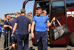 Bristol Rovers players arrive at Roots Hall - Mandatory by-line: Richard Calver/JMP - 05/05/2018 - FOOTBALL - Roots Hall - Southend-on-Sea, England - Southend United v Bristol Rovers - Sky Bet League One