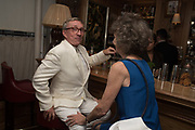 JASPER CONRAN; MARCHIONESS OF DUFFERIN AND AVA, Robin Birley and Lady Annabel Goldsmith Summer Party. Hertford St. London. 5 July 2017