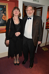 SIR JOHN & LADY RANDALL at the Russian Ballet Icons Gala at The London Coliseum, 33-35 St.Martin's Lane, London on 9th March 2014.