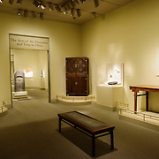 Sackler Gallery Chinese Art and Furniture. The Arts of Six Dynasties and Tang in China Gallery. The Arthur M. Sackler Gallery, located behind the Smithsonian Castle, showcases ancient and contemporary Asian art. The gallery was founded in 1982 after a major gift of artifacts and funding by Arthur M. Sackler. It is run by the Smithsonian Institution.