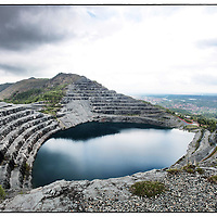 L'Amiantifera di Balangero,  la più grande cava di amianto in Europa situata in provincia di Torino attiva fino al 1990. ..L'Amiantifera di Balangero, the largest quarry of asbestos in Europe located in the province of Turin active until 1990.