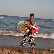 Algeria, Annaba . Caroube  beach     / Plage de la Caroube  Bone  Algerie  Annaba 012