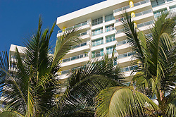 Beachfront condominium development in Acapulco Mexico.