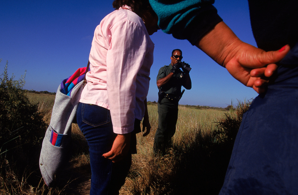 Undocumented immigrants are caught by United States Border patrol agents in San Diego, California. Please contact Todd Bigelow directly with your licensing requests. PLEASE CONTACT TODD BIGELOW DIRECTLY WITH YOUR LICENSING REQUEST. THANK YOU!