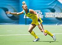 BRUSSELS - Madeline Ratcliffe (Aus.)  during AUSTRALIA v SPAIN , Fintro Hockey World League Semi-Final (women) . COPYRIGHT KOEN SUYK