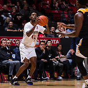 06 November 2018: The Aztecs opened up it's regular season schedule with a 76-60 win over Arkansas Pine-Bluff Tuesday night at Viejas Arena.