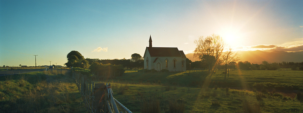 The Burnside Presbyterian Church is one of the best preserved rural churches in New Zealand. It was built in 1875 by european settlers and features intricate interior woodwork.