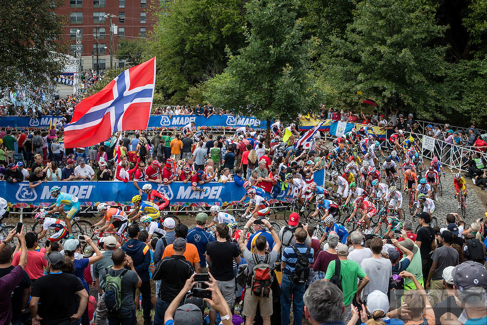 RICHMOND, VIRGINIA - SEPTEMBER 27: UCI Road World Championships on September 27, 2015 in Richmond, Virginia. (Photo by Jonathan Devich/Getty Images) *** LOCAL CAPTION ***