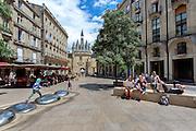 Place du palais dans le centre ville de Bordeaux // Palace square in city center of Bordeaux
