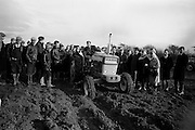 National Ploughing Championships at Tullow, Co. Carlow.  James Murphy, Carlow, winner of the Supreme Award, with his Ford tractor..26.10.1967 C923-9216.