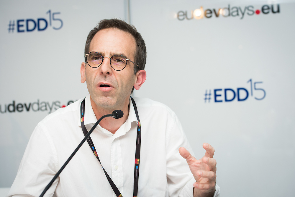 04 June 2015 - Belgium - Brussels - European Development Days - EDD - Urban - The Human Scale - For people-centered sustainable cities - <br /> Frédéric Saliez , Human Settlements Officer, United Nations Human Settlements Programme (UN Habitat) © European Union