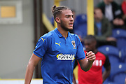 AFC Wimbledon defender Nesta Guinness-Walker walking off pitch during the Pre-Season Friendly match between AFC Wimbledon and Bristol City at the Cherry Red Records Stadium, Kingston, England on 9 July 2019.