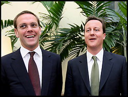 Image ©Licensed to i-Images Picture Agency. 2007 File photo of David Cameron and James Murdoch in central London .Picture Stephen Lock / i-Images