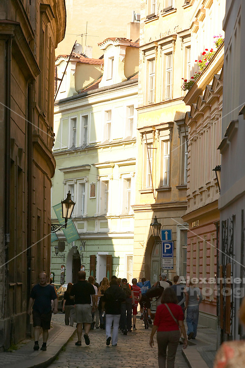Czeck Republic - Prague, wandering down the lane of old town Prague
